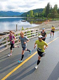 Whistler Half-Marathon.