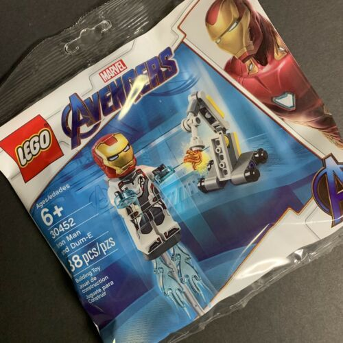 LEGO 30452 Polybag Iron Man /& Dum-E IN-HAND