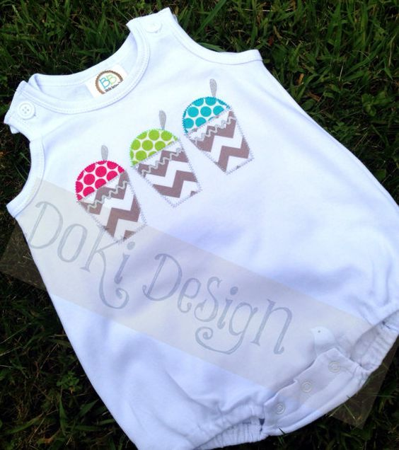 Snoball Romper/Bubble or Tshirt by DoKiDesign on Etsy, $28.00