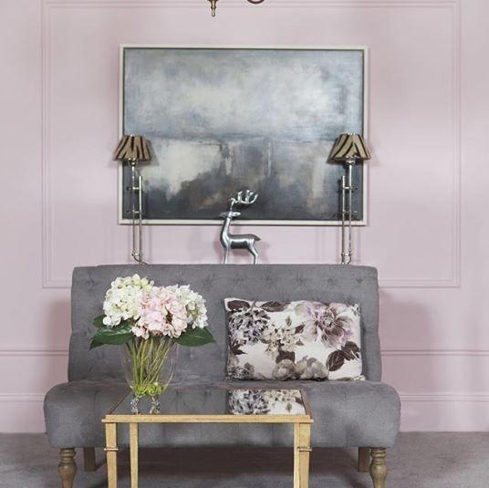 Colourtrend Fantastic Pink Pink Living Room Pink Living Room