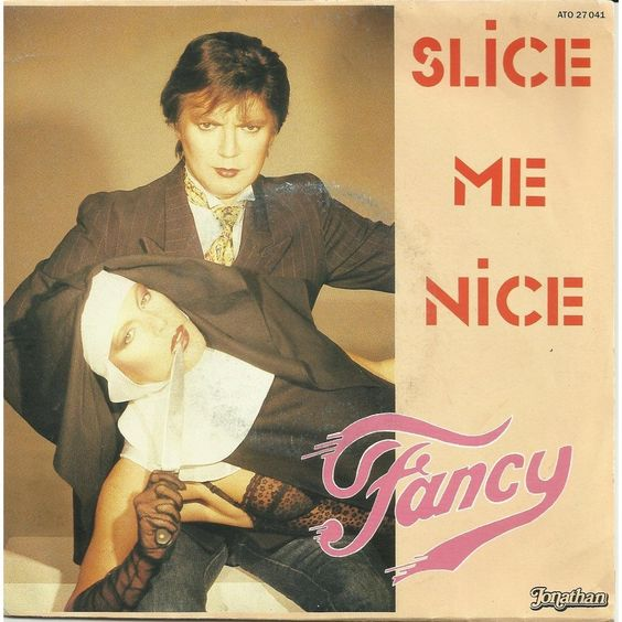 "6/21/2014 - Song of the day is Fancy - ""Slice Me Nice"" (1984) Read all about Fancy here: http://www.chuckuradio.com/chuck-song-of-the-day-fancy-slice-me-nice-1984/"