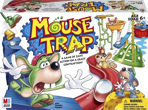 Mousetrap Game Mouse Trap Board Game Family Fun Games Mouse Trap Game