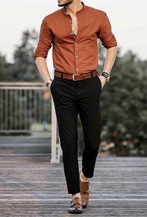 pics Black Style Formal Black Style Shirts For Men men fashion casual shirts