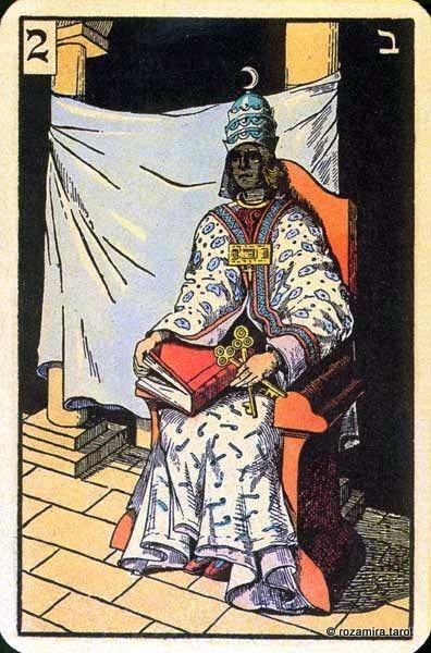 Lasenikuv tarot High Priestess