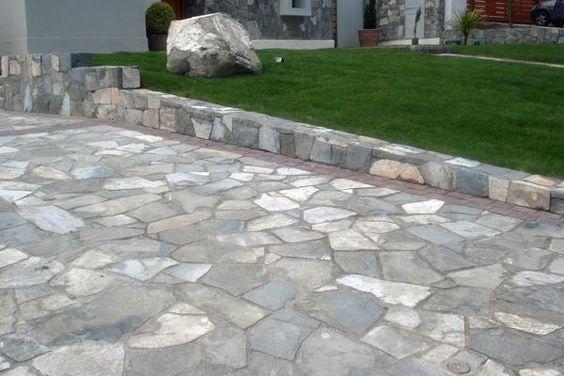 De piedra este es el piso m s resistente y duradero for Patios de piedra