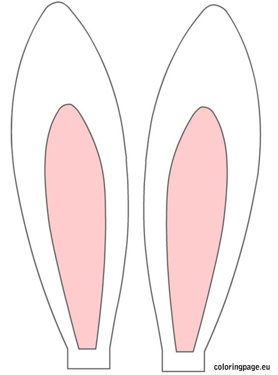 how to draw bunny rabbit ears