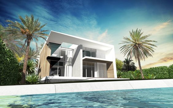 ToGu Architecture - MIA 770 – MIAMI BEACH Conception d'une villa de 440 m² / 4 700 SQ FT Miami Beach- Normandy Shore