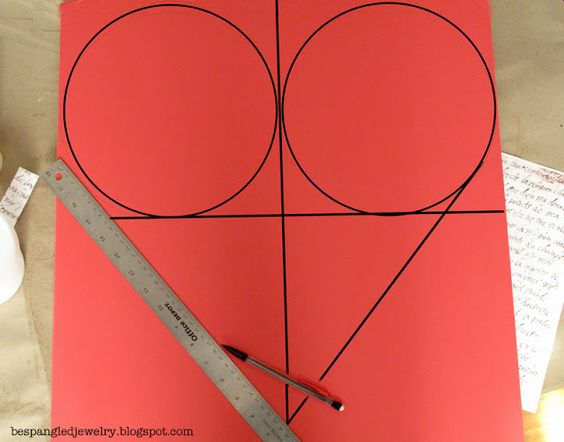 how to make an perfect heart