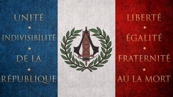 Assassin's Creed: Unity Flag by okiir.deviantart.com on @deviantART