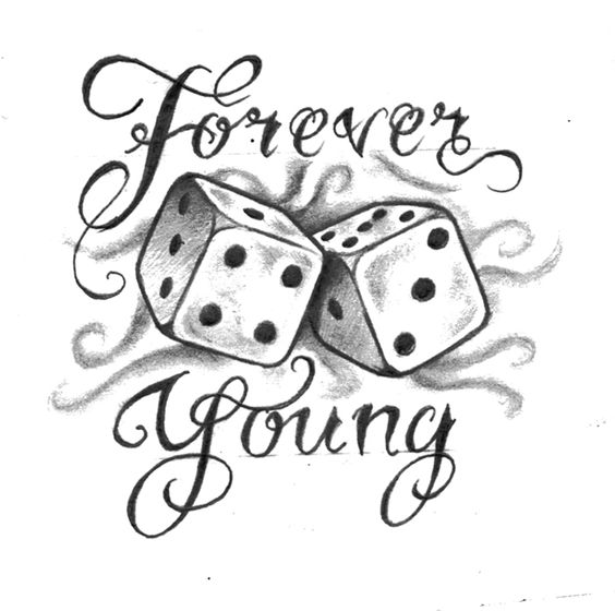 Forever young tattoo design tattoos pinterest tattoo for Forever young in japanese tattoo
