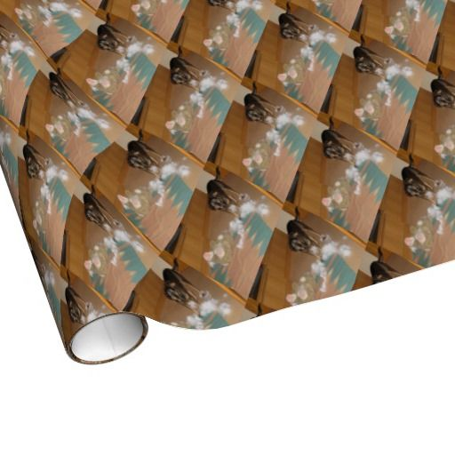 It wasn't me! wrapping paper