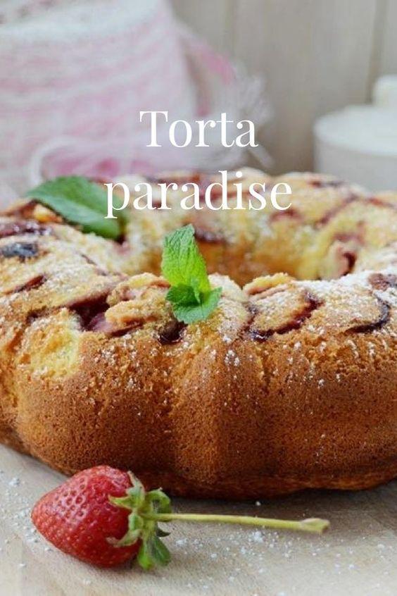 Torta paradiso alle fragole con crema allo yogurt http://blog.giallozafferano.it/gabriellalomazz/torta-paradiso-alle-fragole-con-crema-allo-yogurt/