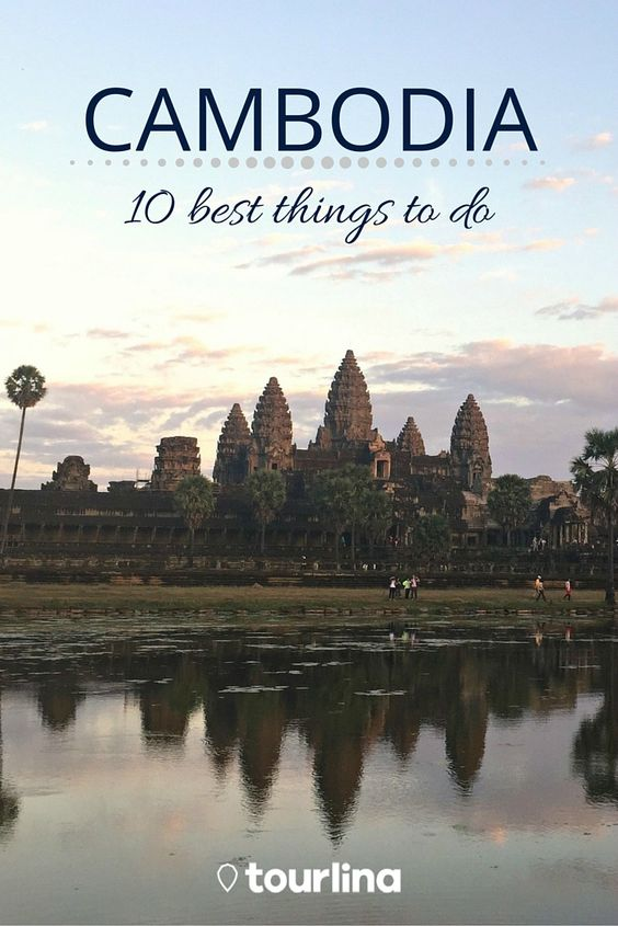 Cambodia - 10 best things to do | Awesome nature, beautiful beaches, great temple architecture, a lively capital, lovely people and insights to the history of Cambodia. Cambodia is definately worth a visit! | With the Tourlina app women can find female travel companions within a secure and trusted network | #travel #traveltips #cambodia | tourlina.com