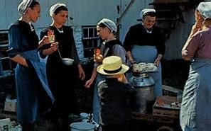 Image result for amish women cooking pictures