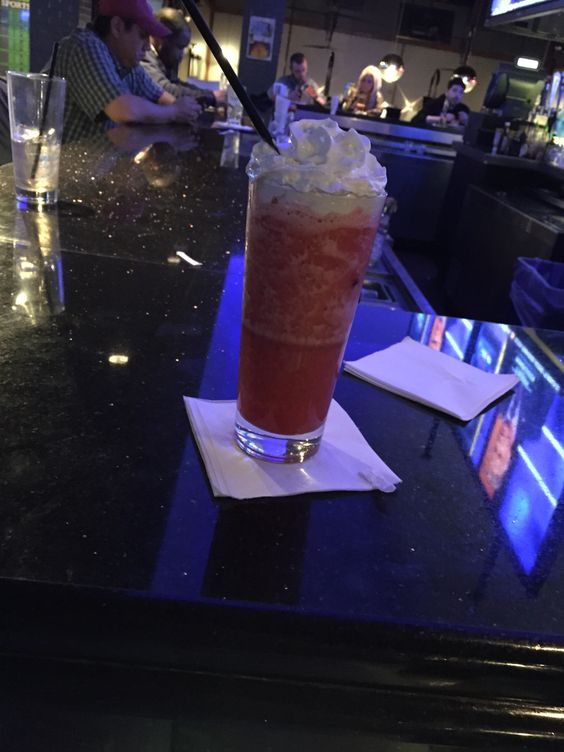Best strawberry daiquiri ever!! Dave and busters In philly Columbus blvd