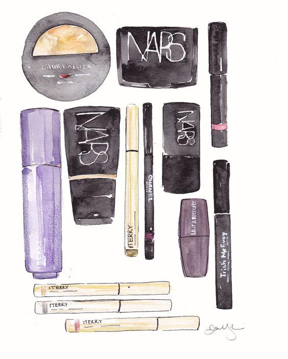 Dallas Shaw » Illustrations | Make up and beauty ...
