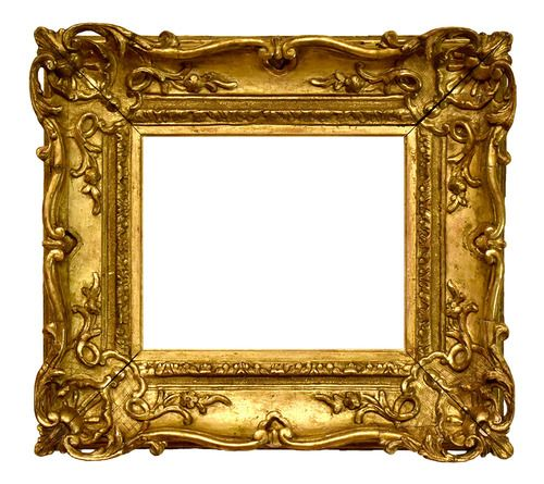 French 18th Century Louis Xv Gilded Picture Frame 9x10 Sku 1941 Antique Picture Frames Antique Pictures Picture Frame Decor