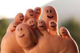 Be happier and healthier from your head to your toes!
