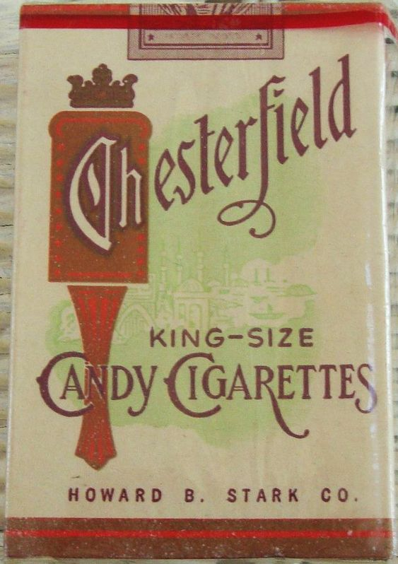 candy from 1950s and 1960s | candy cigarettes of the 1950s and 1960s