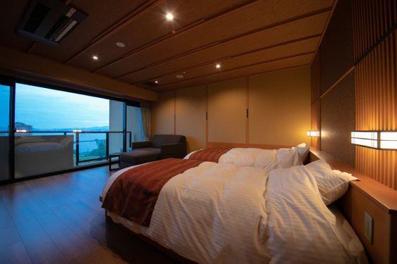 Premium Floor on the 5th Floor   Rooms   Ogoto Onsen Biwako Hanakaido [Official Site] for hot spring inns in Shiga Prefecture