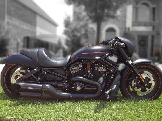 Widow Slip Ons For 2012 Harley Davidson Night Rod Special: Robert Trevino's Harley-Davidson VRSCDX Night Rod Special