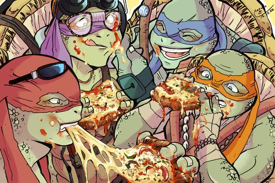 Donnie,Leo,Raph and Mikey tmnt