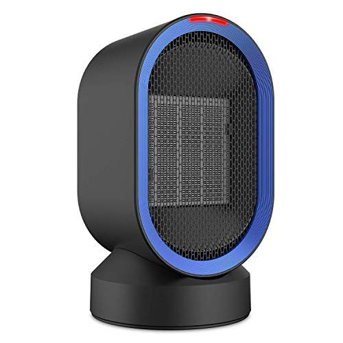 Comlife Oscillating Ceramic Heater 600w Portable Electric Fan Heater Personal Space Heater With Hot Natural Wind Over H Ceramic Heater Space Heater Heater
