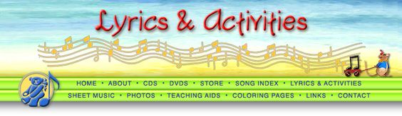Multiplication songs and activities - Hap Palmer