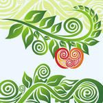 kunst,achtergrond,branch boom,kleurrijke,kromme,decor,decoratie,decoratieve,heerlijke,dieet,tekenen,tekening,voedsel,vers,vruchten
