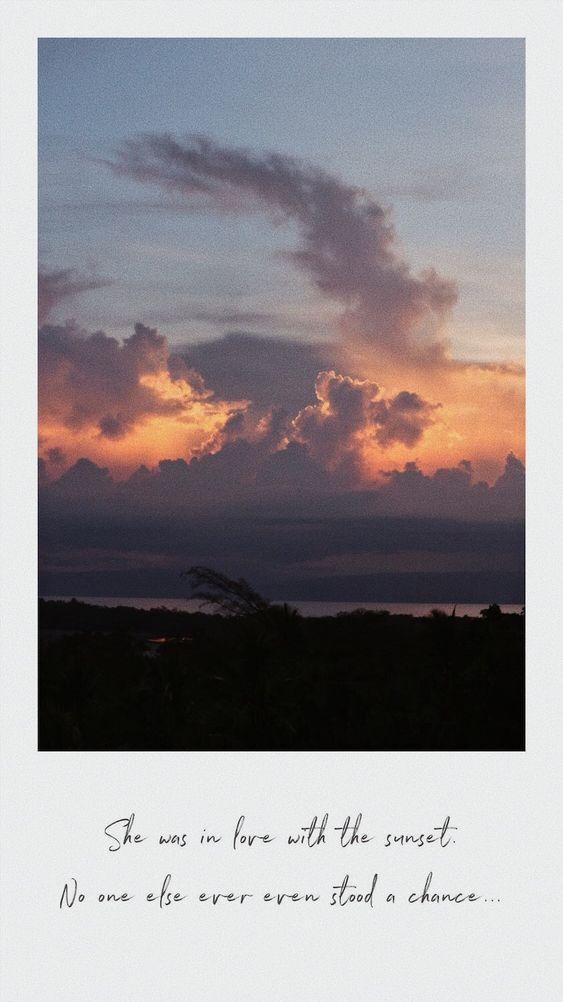 Sunset Matahari Terbenam Kata Kata Indah Pemandangan