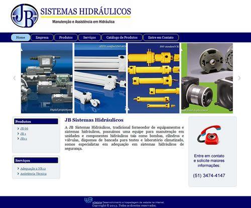 JB Sistemas Hidráulicos - Desenvolvido por W3alpha. www.w3alpha.com.br
