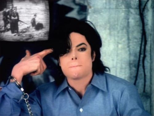 """Michael Jackson, """"They dont care about us"""". 1996"""