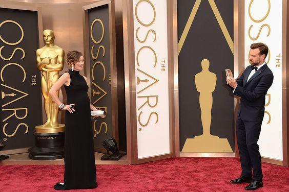 #oscar2014 #parejas - Olivia Wilde y Jason Sudeikis