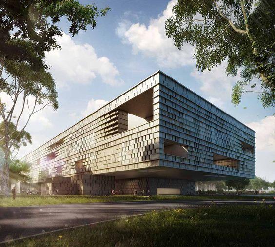 Museo Maya de América-Harry Gugger Studio de Basilea, Seis Arquitectos de Guatemala