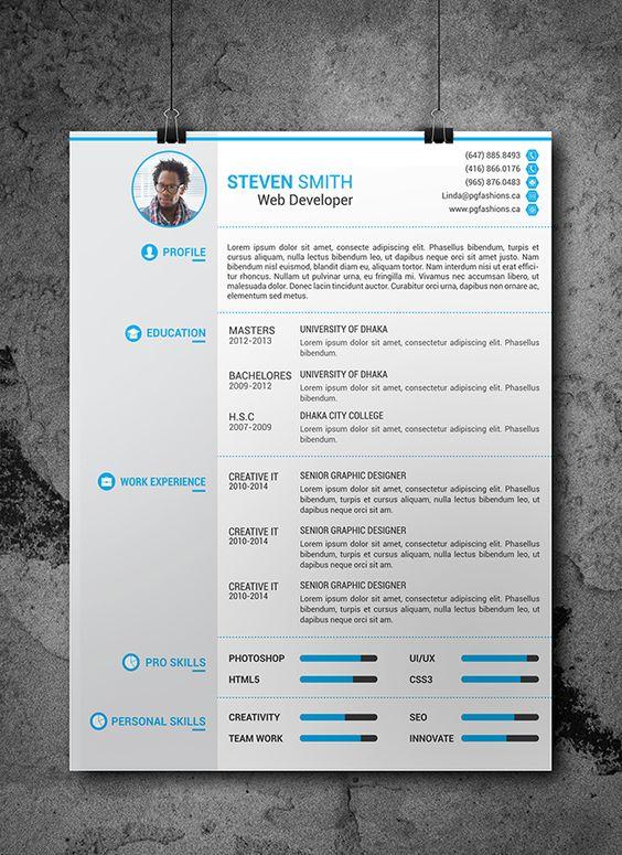 free resume template    plantilla gratis de curr u00edculum vitae