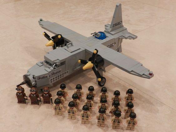 Ww Ii Lego Wwii Lego Legoliner Pilot B26 Bomber Photos