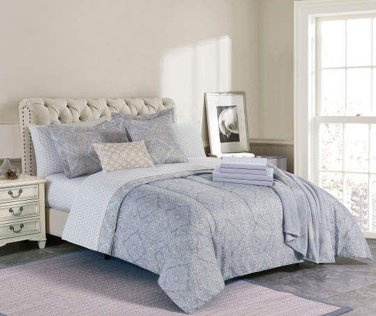 Broyhill Broyhill Alexandra Gray Navy 5 Piece Comforter Set Big Lots Comforter Sets Full Comforter Sets Pillow Decorative Bedroom