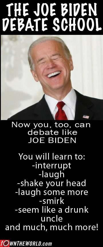 Joe Biden what a joke!: