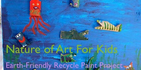How to Pick Paints For Kid Art Projects, art teacher Spramani Elaun Safe non-toxic