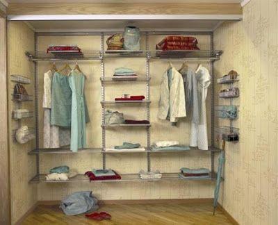 15 armarios para ropa ideas modernas para organizar ideas - Organizar armarios ropa ...