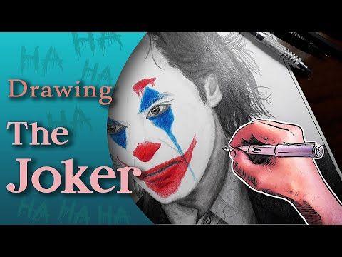 Drawing The Joker 2019 رسم الجوكر Youtube Joker Drawings Youtube Com