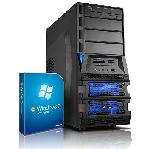 Shinobee PC Gamer - Unité centrale pour ordinateur de bureau (Processeur AMD FX-6300 Bulldozer (Six-Core - 6x3.5GHz, 4.1GHz en mode turbo - NVIDIA GeForce GTX750Ti 2GB DDR5 - 1.5TB HDD - Mémoire RAM 8GB - Windows 7Pro 64 Bit - Lecteur graveur DVD - 6x USB 2.0) #4889 Shinobee http://www.amazon.fr/dp/B011LMC3VE/ref=cm_sw_r_pi_dp_H.Miwb1REFYQ4