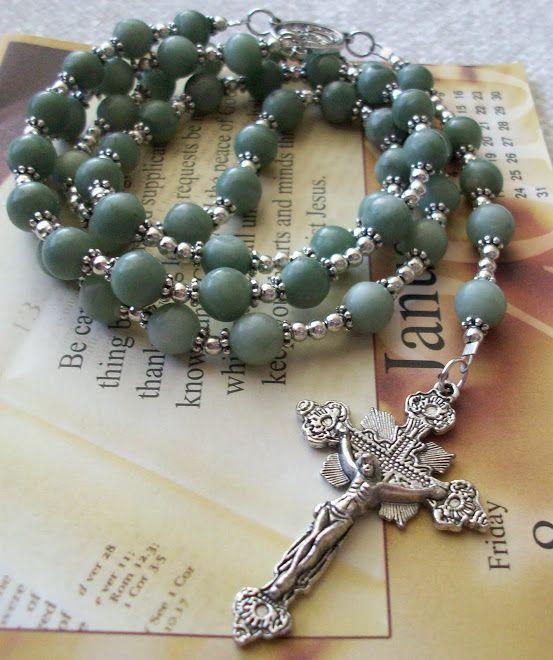 Genuine Russian Jade Rosary