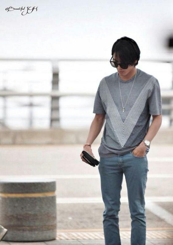 Yong at airport