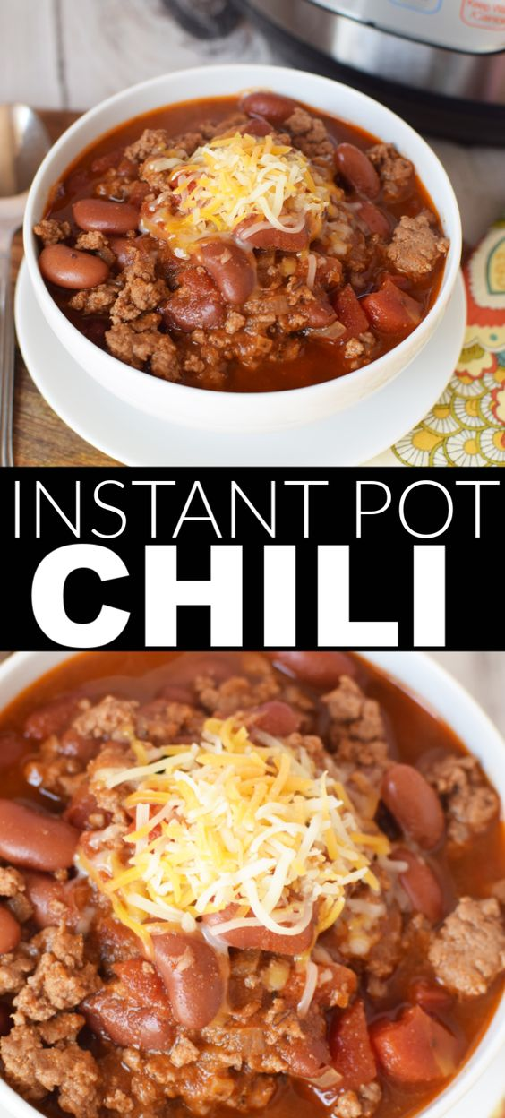 Blue Ribbon Chili - Instant Pot Recipe