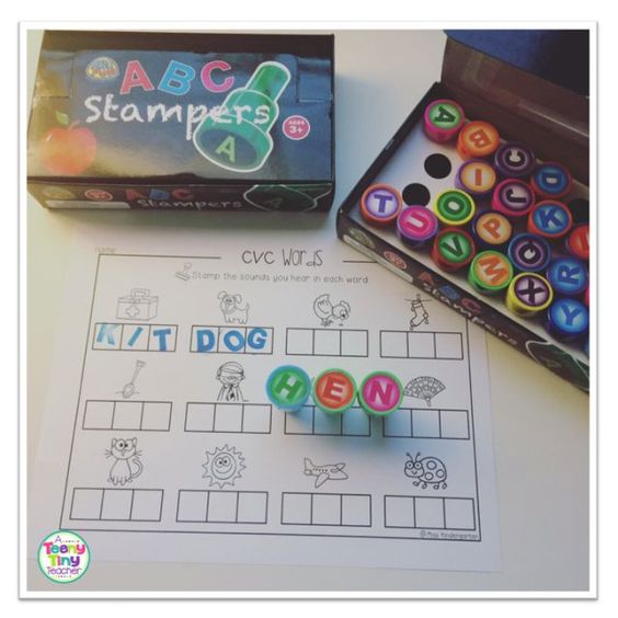 Alphabet stamps using self inking alphabet stamps in the for Self inking letter stamps