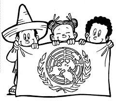 La ciudadanía como modelo universalista es un estatus social por el cual un conjunto de derechos civiles, políticos y sociales son otorgados a todos los miembros de la comunidad. Asegura los mismos derechos civiles, políticos y sociales para todos. Elegí esta imagen porque hasta ahora se conoce que la ONU es una organización que trabaja para la protección de derechos humanos, y de ortos temas universales  con un fin que asegure a todos.