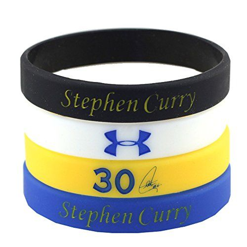CocoFang 3D Stephen Curry Silicone Wristband Bracelet NBA Basketball Star Bracelet,4PCS Assorted Color CocoFang http://www.amazon.com/dp/B010BX3QC4/ref=cm_sw_r_pi_dp_C7C8vb0MWFT40