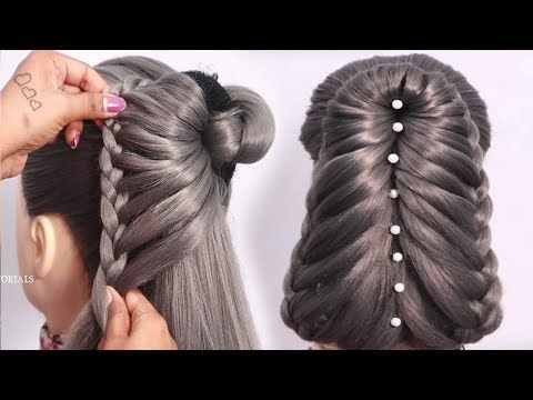 New Wedding Guest Hairstyle With Donut Updo Hairstyles New Hairstyle Juda Hairstyle Youtube Hair Styles Wedding Guest Hairstyles Hairstyles Juda