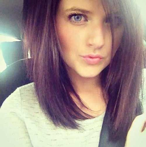 Superb Angled Bob Haircuts Angled Bobs And Long Angled Bobs On Pinterest Short Hairstyles Gunalazisus